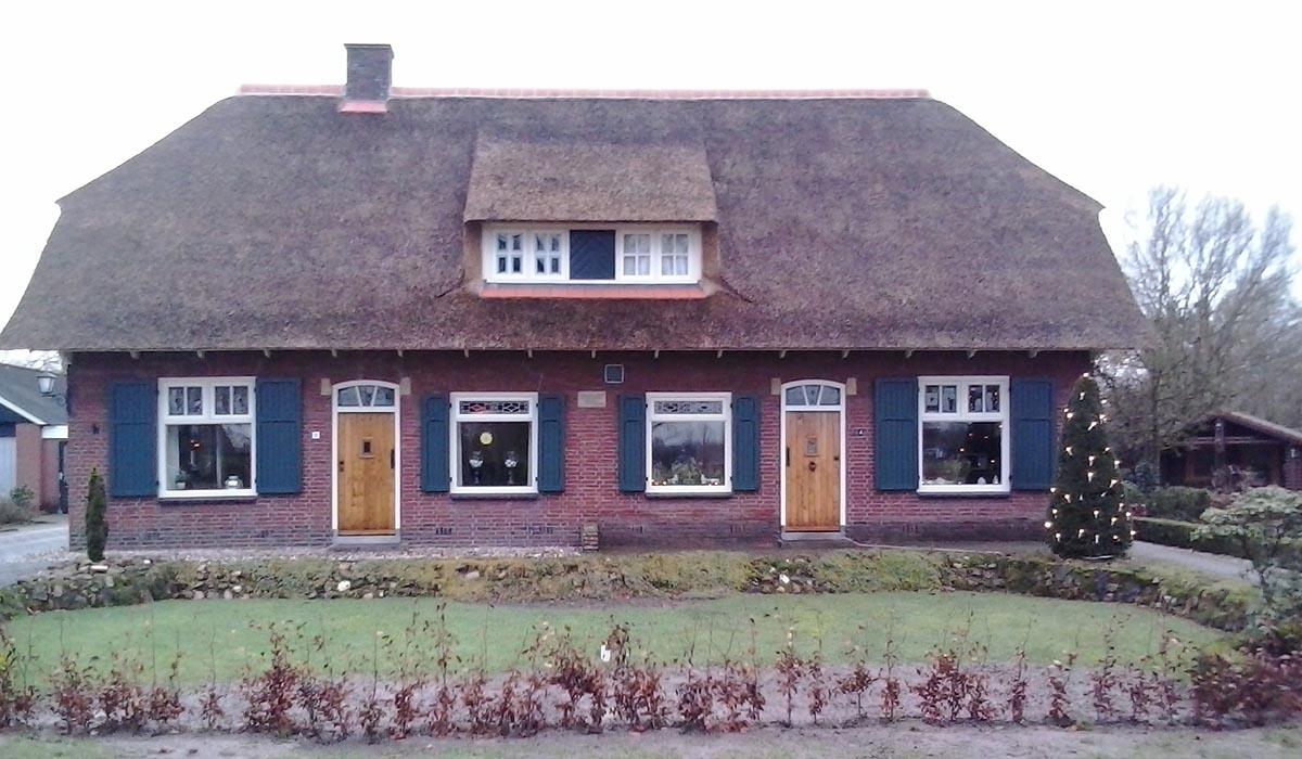 houten vensterluiken